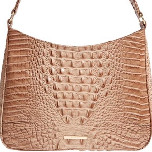 Brahmin Bags   Beautiful New Nadia Shoulder Bag Morel Tan   Poshmark a420bf354b